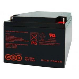 Аккумуляторная батарея WBR GP12260 (12V 26Ah)
