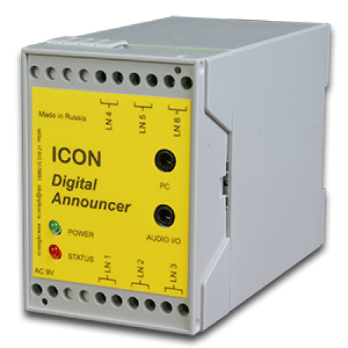 Одноканальный автоинформатор для подключения в разрыв телефонной линии ANP11 ANP11