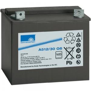 Аккумулятор гелевый Sonnenschein A512/30 G6 (12V 30Ah) GEL