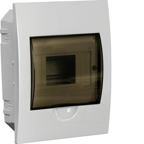 Бокс встраиваемый ЩРВ-П-6, 6 модулей, прозрачная дверь, пластик, IP41, ИЭК MKP12-V-06-40-20