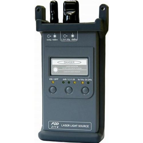 Источник лазерного излучения FOD-2114 (635/1310/1550 nm, SM, FC) FOD-2114