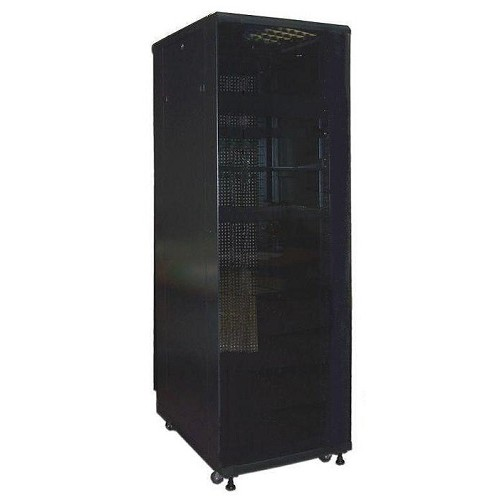 """Шкаф TWT серверный 19 """" Business Advanced, 47U 600x800, без дверей, с боковыми стенками, черный TWT-CBA-47U-6x8-00"""