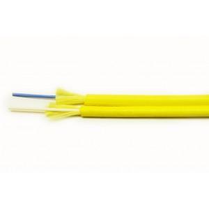 Кабель 2 волокна одномод внутренний, ZIP cord, LSZH, SM G657