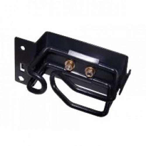 Металлическое кольцо-органайзер вертикальное, для шкафов Business, правое TWT-CBB-RGV-R