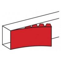 Частичная крышка шириной 130 мм - для кабель-каналов DLP 65x150/220 - 2м - белый