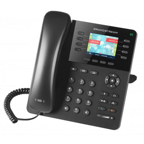 IP-телефон, 4 SIP линии, PoE, цветной дисплей 2.8 дюйма, Grandstream GXP2135 GXP2135