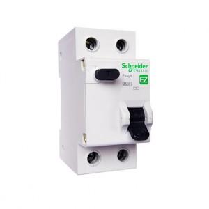 Выключатель автоматический дифференциальный АВДТ 1П+N 16А 30мА C AC EASY 9