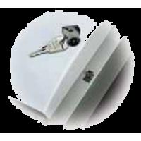 Замок с ключом для пластиковых боксов UNIBOX (АВВ)