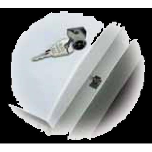 Замок с ключом для пластиковых боксов UNIBOX (АВВ) LUC 12 530