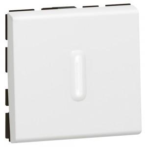 Переключатель на два направления - Программа Mosaic - 2 модуля - 10 AX - со светодиодной подсветкой