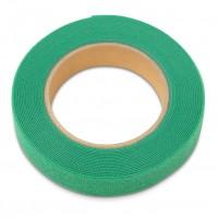 Рулон липучки, 5м х 25мм, цвет зеленый