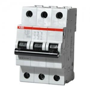 Автоматический выключатель ABB STOS203 C50 3п 50А  6кА (2CDS253001R0504)