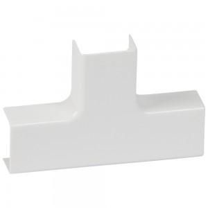 Ответвление T-образное для монтажа у потолка - для мини-плинтусов DLPlus 60/75x20 - белый