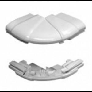 Угол внешний переменный от 60° до 120° - для кабель-каналов DLP 65х150/195/220 - 2