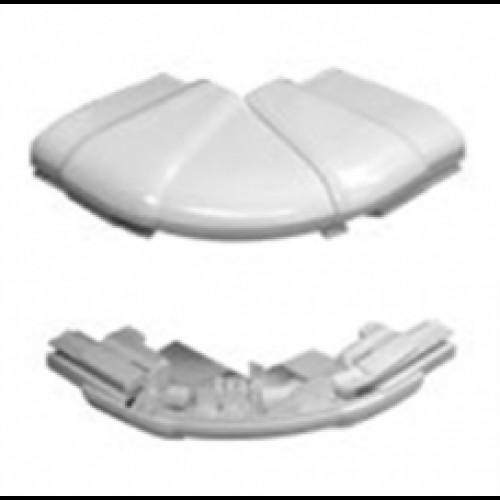 Угол внешний переменный от 60° до 120° - для кабель-каналов DLP 65х150/195/220 - 2 10636