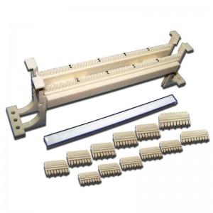 50-парный 110 настенный кросс LANMASTER, БЕЗ ножек и блоков