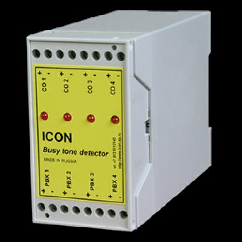 4-канальный детектор отбоя с питанием от телефонной линии BTD4A(отбой только разрывом шлейфа) BTD4A