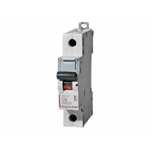Автоматический выключатель Legrand  DX3-E C6 1П 6kA (407260)