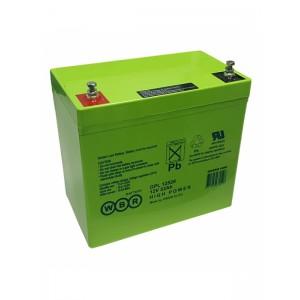 Аккумуляторная батарея WBR GPL12520 (12V 55Ah)
