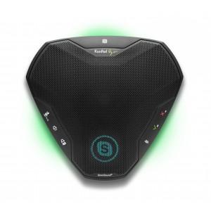 Спикерфон Konftel EGO - подключение Bluetooth/NFC/профиль A2DP, USB, jack 3.5мм, аккумулятор, ЖКД
