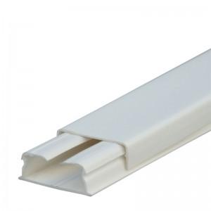 Мини-плинтус DLPlus - 32x12,5 мм - 1 отделение - длина 2,1 м - белый