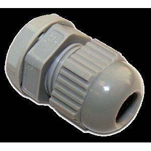 Гермоввод для кабеля диаметром от 4 до 8 мм, IP68, серый