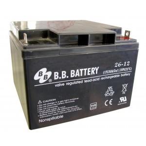 Аккумуляторная батарея В.В.Battery BPS 26-12