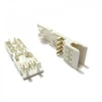 LAN-S110P2 Коннектор для 110 кросса Вилка 2 пары Lanmaster