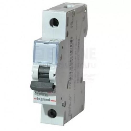 Автоматический выключатель Legrand 1п 63А  6кА (L03392) L03392