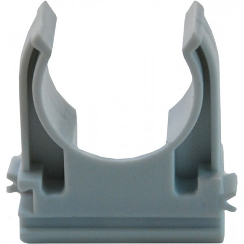 Держатель ( клипса) с защелкой для труб д.32мм (упак 50шт.) 51032