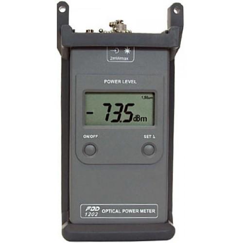 Портативный измеритель мощности FOD-1202 (InGaAs, 0.85/1.31/1.55 mkm, FC, -60...+3 dBm) FOD-1202