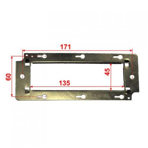 Металлический суппорт для установки 45х135 TWT-MF45X135