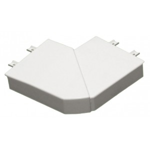 Угол плоский 90° - для кабель-каналов DLP 65х195 - белый