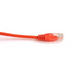 Патч-корд RJ45 TWT UTP кат 5e шнур медный 0.3 м оранжевый