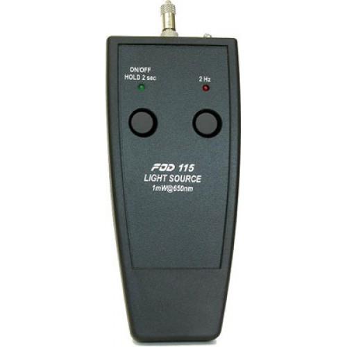 Миниатюрный источник видимого излучения FOD-115 (635 nm, 1 mW, CW/2Hz) FOD-115