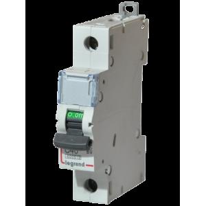 Автоматический выключатель Legrand  DX3-E C40 1П 6kA (407267)