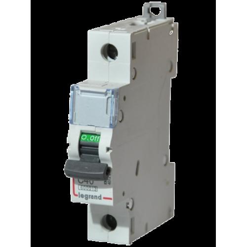 Автоматический выключатель Legrand  DX3-E C40 1П 6kA (407267) 407267