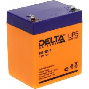 Аккумуляторная батарея Delta HR12-5