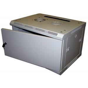 """Шкаф 19"""" 6U TWT настенный 600x600,  дверь металл разборный"""