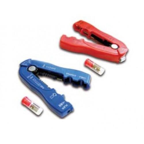Инструмент для снятия изоляции 0.8 – 2.6 мм (10 – 20 AWG), синий LAN-STR-0.8-2.6