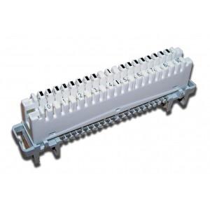 Плинт размыкаемый LSA Profil, Eco, 10 пар, маркировка от 1 до 0 TWT-LSA10P-DIS-10