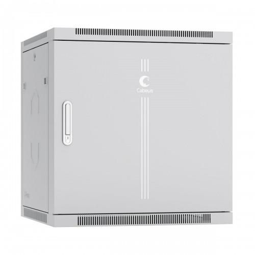 """Шкаф 19"""" 12U Cabeus 350 мм телекоммуникационный настенный дверь металл, разборный SH-05F-12U60/35m"""