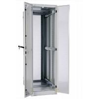 """Шкаф 42U ЦМО серверный 19 """" напольный 600x1000 дверь перфорированная, задние двойные перфорированные"""