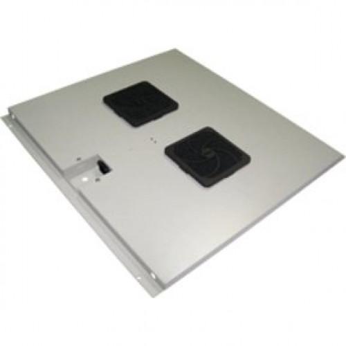 Блок 2-х вентиляторов в крышу шкафа Eco глубиной 600 мм TWT-CBE-FAN2-6
