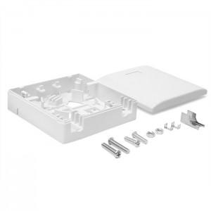 Коробка настенная на 1 адаптер SC, белая