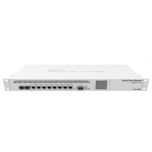 Маршрутизатор MikroTik CCR1009-7G-1C-1S+ Cloud Core Router 1009-7G-1C-1S+ with Tilera Tile-Gx9 CPU