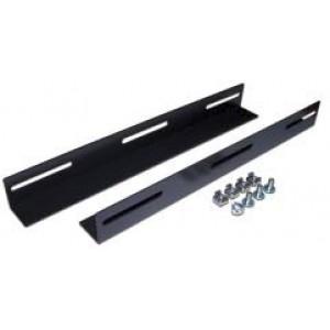 Держатели тяжелого оборудования для шкафов глубиной 600 мм, 2 шт., черные
