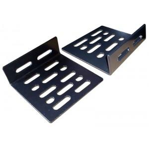 Кронштейны для крепежа дополнительного оборудования, 2 шт., черные