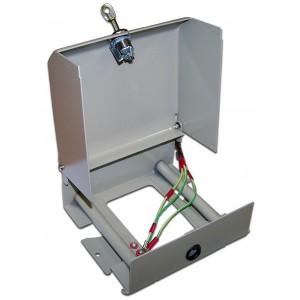 Настенный распределительный бокс, металл, 3 плинта, 30 пар, с замком TWT-DB10-3P/KM