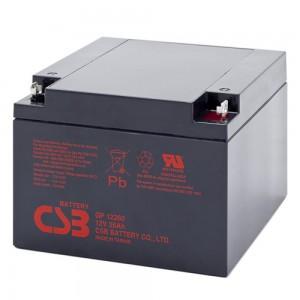 Аккумуляторная батарея CSB GP12260 (12V 26Ah)